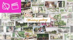 Wedding Wall Gallery - Apple Motion 5 and Final Cut Pro X Template Stock After Effects