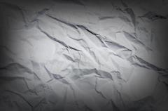 Wrinkled paper great as a background with vignette Stock Photos