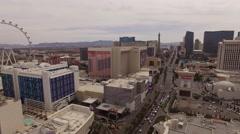Aerial Las Vegas Strip Stock Footage