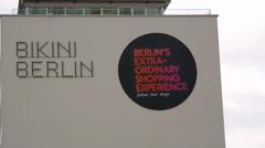 Bikini Berlin shopping mall, Zoologischer Garten, Berlin, Germany Stock Footage