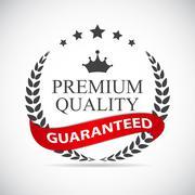 Premium Quality Label Vector Illustration - stock illustration