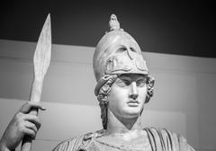 Athena the ancient Greek goddess - stock photo