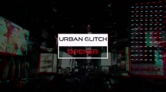 Urban Glitch Opener - stock after effects