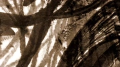 Scribble pencil grunge abstract Stock Footage
