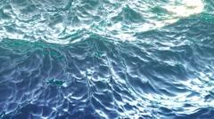 4k video of ocean waves Stock Footage