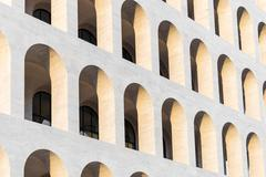The Palazzo della Civiltà Italiana, aka Square Colosseum, Rome, Italy - stock photo