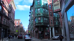 The North End Intersection Stock Footage