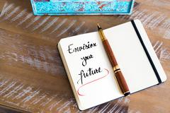 Written text Envision Your Future - stock photo