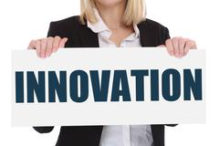 Innovation idea leadership success successful winning business concept innova - stock photo