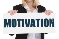 Motivation strategy coaching training success successful winning business con Stock Photos