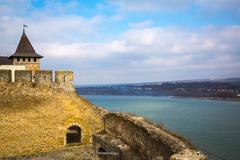 Khotyn Fortress Stock Photos
