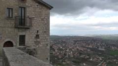Ferrazzano, small village, Campobasso, italy Stock Footage
