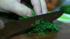 Dill Cook cuts Stock Footage