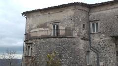 Ferrazzano, Campobasso, italy Stock Footage