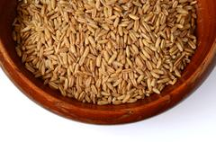 Whole oat seeds Stock Photos