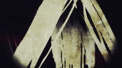 grunge glimmer skid marks - stock footage