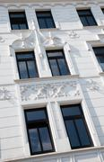 Facade of Art Nouveau building Stock Photos