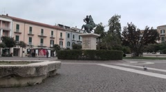 Campobasso, the city of Molise Stock Footage