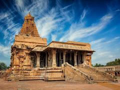 Brihadishwara Temple, Tanjore Stock Photos