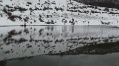 Lake of vallefiorita, Pizzone, Isernia Stock Footage