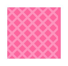 Pink cleaning rag forhouse flat vector illustration isolated on white - stock illustration