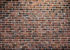Brick old texture wall for background design or abstract photo Stock Photos
