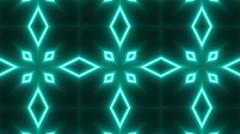 Neon Psychedelic Kaleidoscope Stock Footage