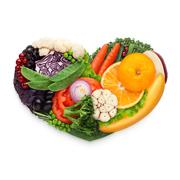 Food for heart. - stock photo