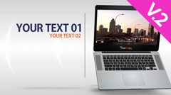 Laptop 15s Commercial (V.2) - After Effects Template Stock After Effects
