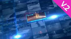 Digital Dynamic Wall (V.2) - After Effects Template - stock after effects
