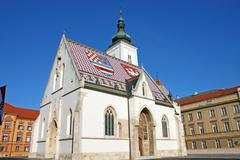 St. Mark's church - stock photo