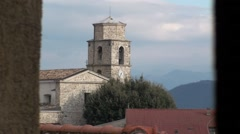 Scapoli small village of Molise, Stock Footage