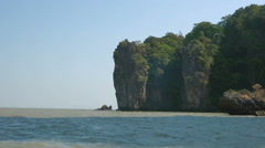 Walk Along the Cliffs on the Island of James Bond - stock footage