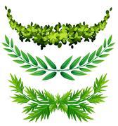 Plant design for decoration Stock Illustration