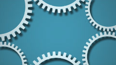 gears background video - stock footage