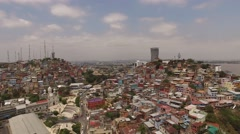 Guayaquil long shot. Stock Footage