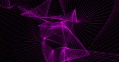 Tunnel Visual EDM Seamless Loop 4K HD - stock footage
