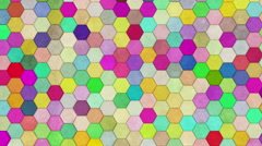 Hexagon Background Loop Ultra HD Stock Footage