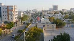 Qeshm city - biggest city on Qeshm island, Iran - stock footage