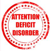 Attention deficit disorder Stock Illustration