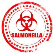 Salmonella concept background Stock Illustration