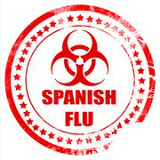 Spanish flu concept background Stock Illustration