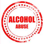 Stock Illustration of Alcohol abuse sign