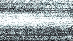 Old TV Noise Transition Animation - stock footage