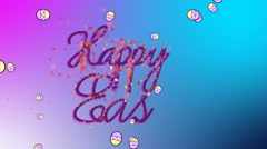 Happy Easter Celebration Stock Footage