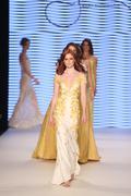 Rasit Bagzibagli Couture Catwalk in Mercedes-Benz Fashion Week Istanbul - stock photo