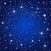 Vector background. Starry night Sky. Eps 10. - stock illustration