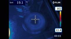 Flir Thermal Video - stock footage