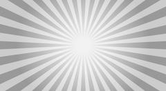 Abstract sunbeams background - vector illustration. Stock Illustration