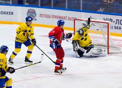 Pavel Patera (10) score Stock Photos